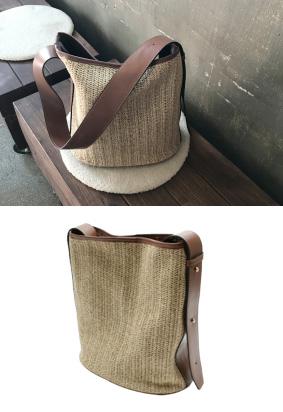 ラタンバケット-bag