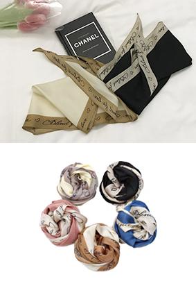 イニシャル - スカーフ