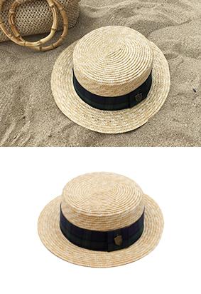 チェックカンカン - 帽子